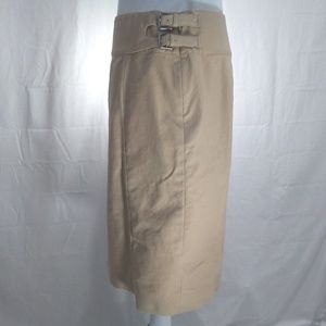 Lauren Ralph Lauren Skirts - Lauren Ralph Lauren Tan Pencil Skirt Knee Length 6